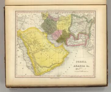 Persia, Arabia &c.