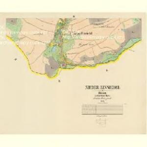 Nieder Einsiedel - c1365-1-003 - Kaiserpflichtexemplar der Landkarten des stabilen Katasters