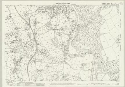 Cornwall XXX.5 (includes: Calstock; Tavistock Hamlets) - 25 Inch Map