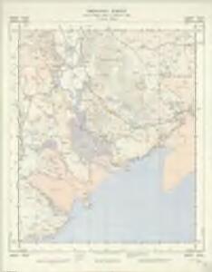 NX85 & Parts of NX84 - OS 1:25,000 Provisional Series Map
