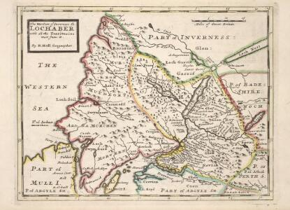 The West Part of Inverness Sh. Lochaber with all the Territories west from it / by H. Moll.