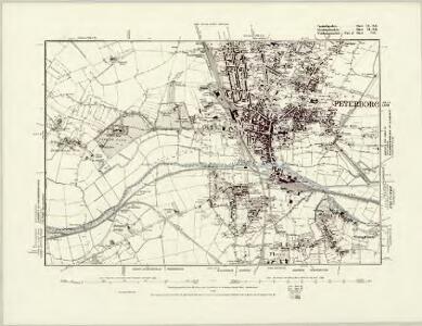 Caernarvonshire XLVIII.NW & XLVII.NE - OS Six-Inch Map