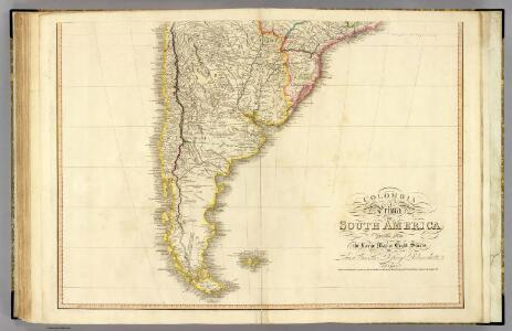 Colombia Prima, S. America. S sheet.