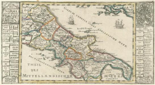Des Königreichs Napoli Nord-Theil