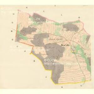 Kadolz - m1131-1-001 - Kaiserpflichtexemplar der Landkarten des stabilen Katasters