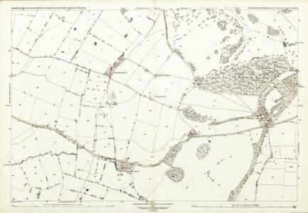Gloucestershire LXXIII.3 (includes: Dodington; Dyrham and Hinton; Tormarton) - 25 Inch Map