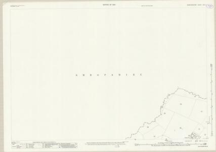 Staffordshire XXII.2 (includes: Mucklestone; Norton In Hales; Woore) - 25 Inch Map