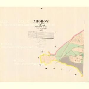 Zborow - c9182-1-002 - Kaiserpflichtexemplar der Landkarten des stabilen Katasters
