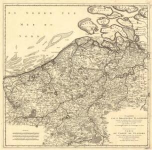 Caarte van T'Graafschap Vlaanderen :