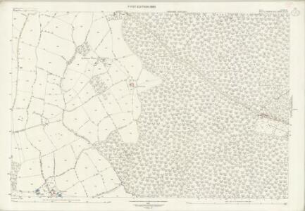 Staffordshire LXXIII.11 (includes: Kinlet; Upper Arley) - 25 Inch Map