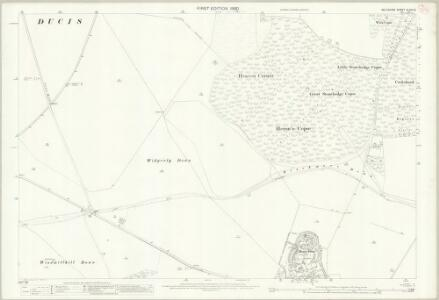 Wiltshire XLVIII.8 (includes: Collingbourne Ducis; Ludgershall) - 25 Inch Map