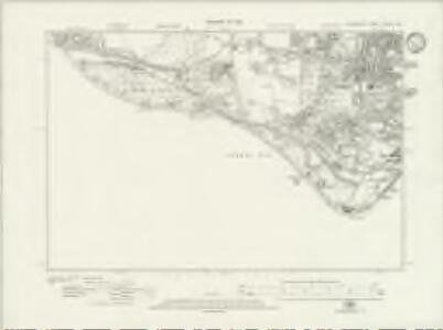 Hampshire & Isle of Wight LXXXIII.SW - OS Six-Inch Map