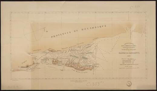 Costa Oriental d'Africa, Provincia de Moçambique. Reconhecimento hydrographico da Bahia de Bazaruto