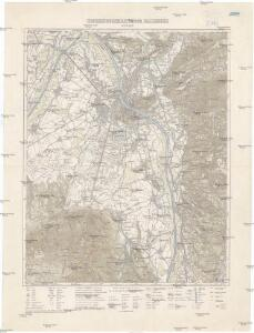 Umgebungskarte von Salzburg 1:25 000