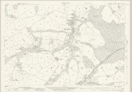 Yorkshire CCLXXIV.9 (includes: Cawthorne; Dodworth; Penistone; Silkstone) - 25 Inch Map