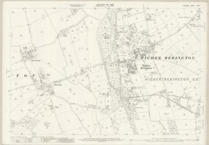 Cheshire XIII.15 (includes: Bebington and Bromborough; Brimstage; Storeton) - 25 Inch Map