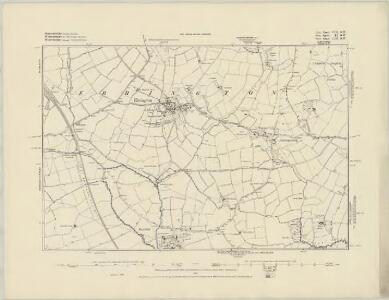 Gloucestershire VII.SE - OS Six-Inch Map