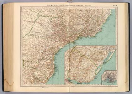 157-58. Brasile Meridionale, Uruguay.