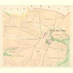 Klein Deschau - m1710-1-002 - Kaiserpflichtexemplar der Landkarten des stabilen Katasters