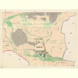 Kladrub - c3111-1-003 - Kaiserpflichtexemplar der Landkarten des stabilen Katasters