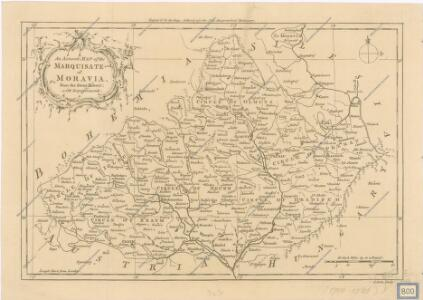An accurate Map of the Marquisate of Moravia