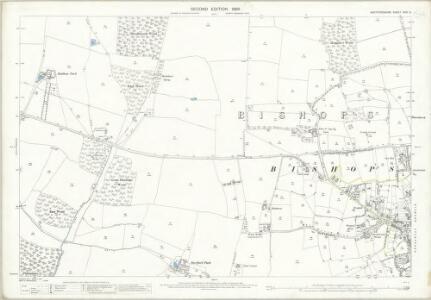 Hertfordshire XXIII.5 (includes: Albury; Bishops Stortford; Farnham; Little Hadham) - 25 Inch Map