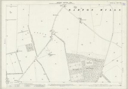 Suffolk XXXII.1 (includes: Barton Mills; Worlington) - 25 Inch Map