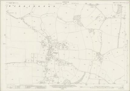 Essex (New Series 1913-) n XIII.16 (includes: Debden; Widdington) - 25 Inch Map