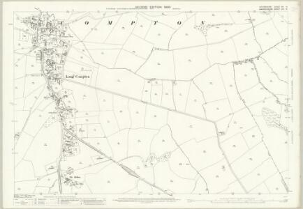 Oxfordshire VIII.14 (includes: Long Compton; Rollright) - 25 Inch Map