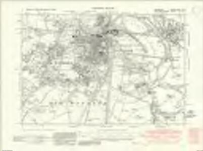 Berkshire XXXII.SW - OS Six-Inch Map