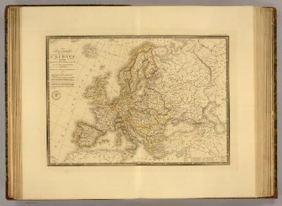 Europe en 1813.