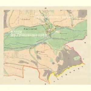Pitschendorf (Pičkow) - m2282-1-003 - Kaiserpflichtexemplar der Landkarten des stabilen Katasters