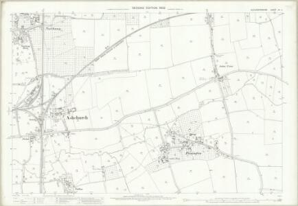 Gloucestershire XII.11 (includes: Ashchurch) - 25 Inch Map