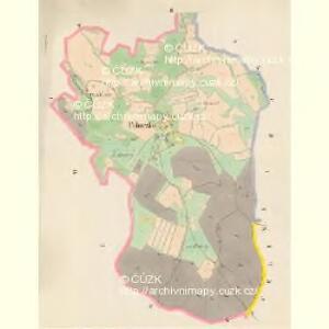 Pohorsko - c5946-1-002 - Kaiserpflichtexemplar der Landkarten des stabilen Katasters