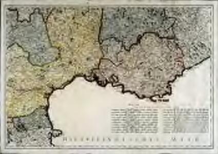 Neueste Generalkarte von Frankreich, 6