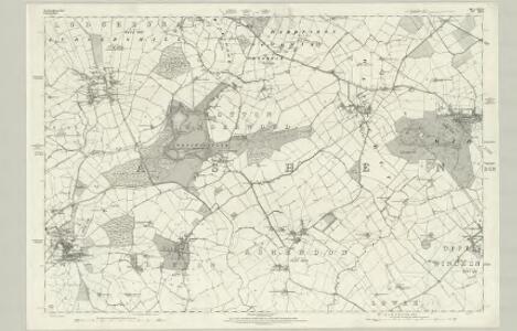 Buckinghamshire XXV - OS Six-Inch Map