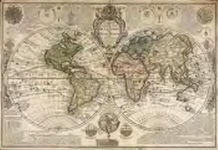 Carte generale de la terre ou Mappe Monde
