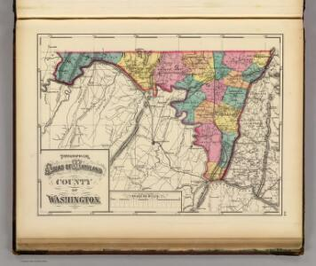 Topographical atlas of Maryland: County of Washington.