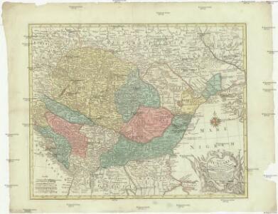Tabula Hungaria et regionum, quae praeterea ab ea dependent