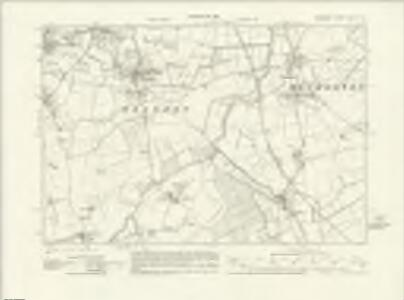 Somerset LXXII.SE - OS Six-Inch Map