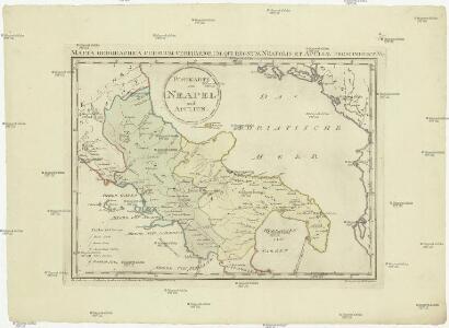 Postkarte von Neapel und Apulien