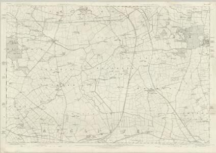 Durham XLIII - OS Six-Inch Map
