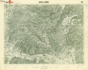 III. vojenské mapování 4665