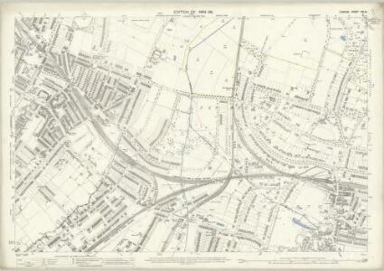 London (Edition of 1894-96) CXLVI (includes: Beckenham; Penge) - 25 Inch Map