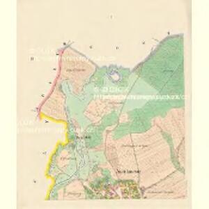 Janowitz (Janowice) - c2763-1-001 - Kaiserpflichtexemplar der Landkarten des stabilen Katasters