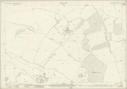 Hertfordshire VIII.9 (includes: Clothall; Wallington; Weston) - 25 Inch Map
