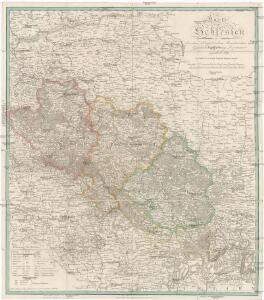 Karte von Schlesien