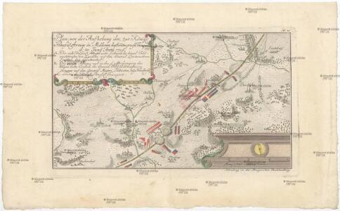 Plan, von der Aufhebung des, zur könig. preussi. Armee in Mähren bestim[m]ten grosse[n] Transport. d. 30. Juny Anno 1758