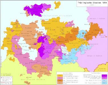 Thüringische Staaten 1914