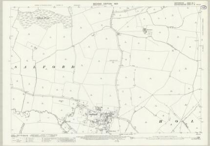 Bedfordshire XX.7 (includes: Cranfield; Hulcote and Salford; Wavendon) - 25 Inch Map